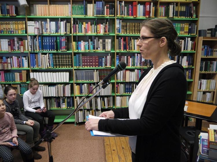 Az Olvasó Város díjátadója a városi könyvtárban