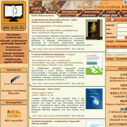 E-könyvek az interneten